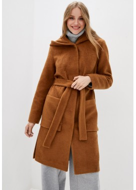Пальто демисезонное рыжее DANNA 1757