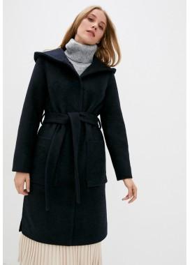 Пальто демисезонное синее DANNA 1757