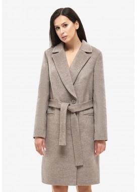 Пальто демисезонное коричневое DANNA 1133