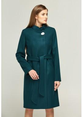 Пальто демисезонное зеленое DANNA 1109
