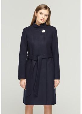 Пальто демисезонное синее DANNA 1109