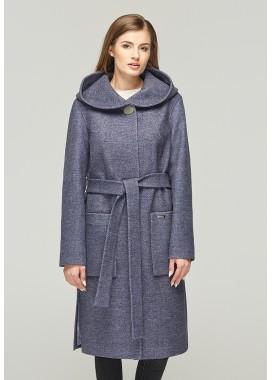 Пальто демисезонное синее  DANNA  1115