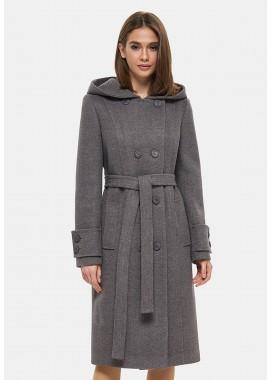 Пальто демисезонное коричневое 1103