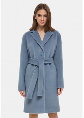 Пальто демисезонное голубое DANNA 1117