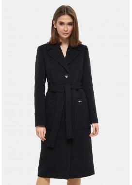 Пальто демисезонное черное DANNA 1121