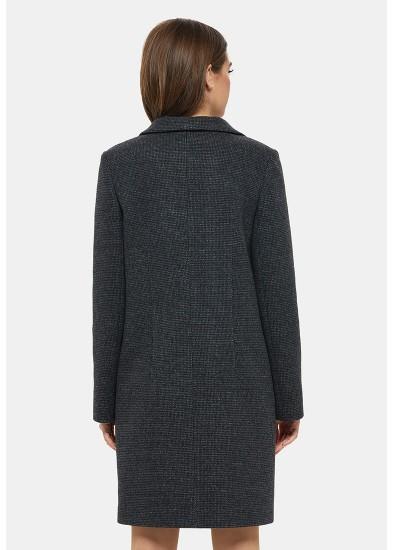 Пальто демисезонное черное DANNA 1123