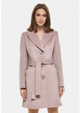 Пальто демисезонное розовое DANNA 1125