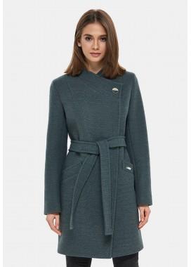 Пальто демисезонное зеленое DANNA 1129