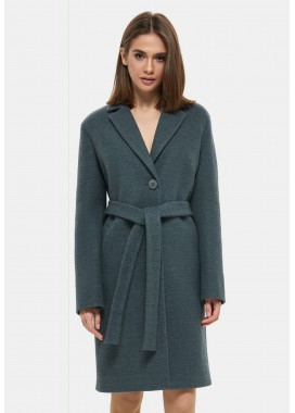 Пальто демисезонное зеленое DANNA 1131
