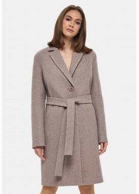 Пальто демисезонное коричневое DANNA 1131
