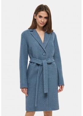 Пальто демисезонное синее DANNA 1131
