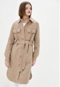 Пальто демисезонное коричневое DANNA 1725