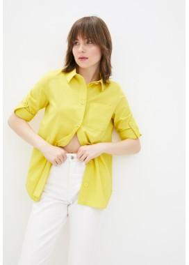 Рубашка желтая DANNA 1077