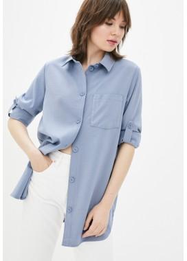 Рубашка голубая DANNA 10771
