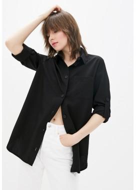 Рубашка черная DANNA 10771