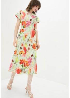 Платье с цветочным принтом DANNA 1083
