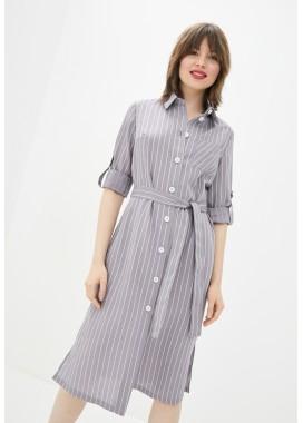 Платье серое DANNA 1085