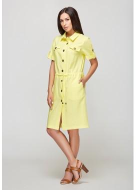 Платье желтое 1023 DANNA
