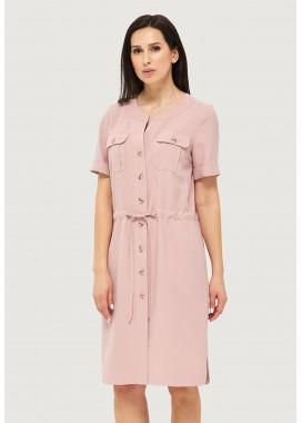Платье летнее розовое DANNA 1053