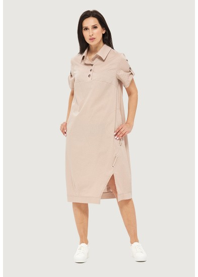 Платье летнее бежевое DANNA 1055