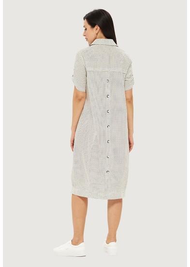 Платье летнее белое DANNA 1055