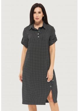 Платье летнее черное DANNA 1055