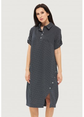 Платье летнее синее DANNA 1055