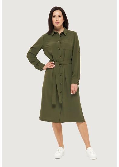 Платье летнее зеленое DANNA 1059
