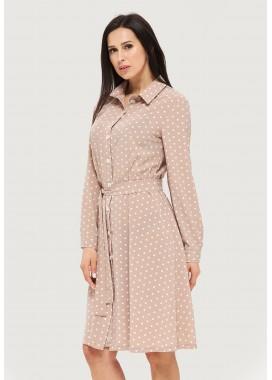 Платье летнее бежевое DANNA 1061