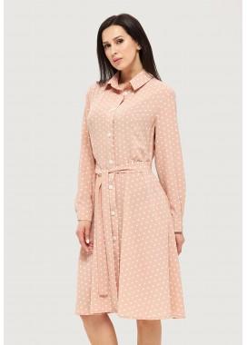 Платье летнее оранжевое DANNA 1061
