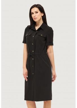 Платье летнее черное DANNA 1063