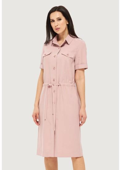 Платье летнее розовое DANNA 1063