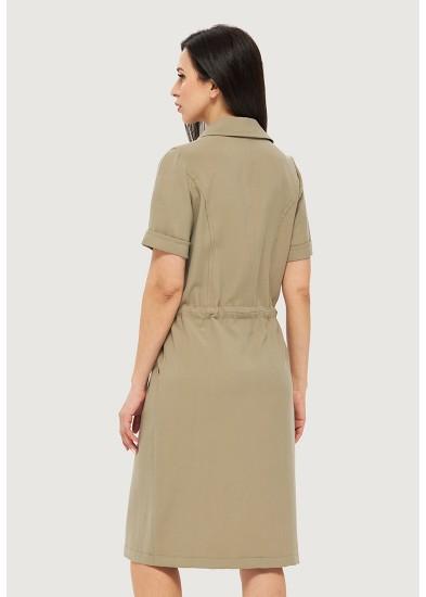 Платье летнее зеленое DANNA 1063