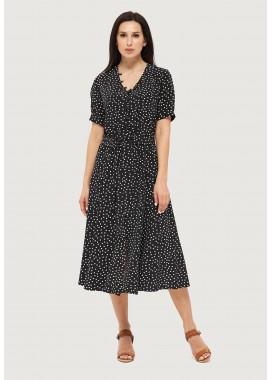 Платье летнее черное DANNA 1067