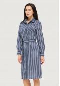 Платье летнее синее DANNA 1073