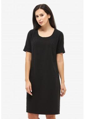 Платье летнее черное DANNA 1045