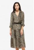 Платье летнее коричневый DANNA 1047