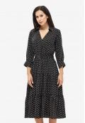 Платье летнее черное DANNA 1047