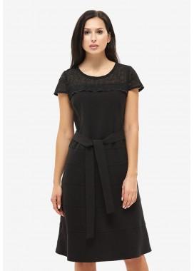 Платье летнее черное DANNA 1049