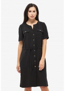 Платье летнее черное DANNA 1053