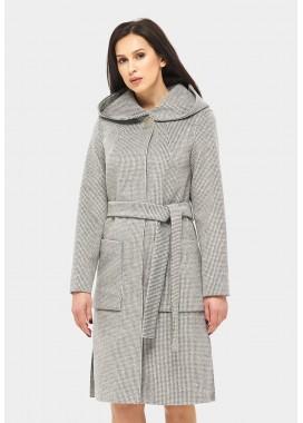 Пальто демисезонное серое DANNA 11431