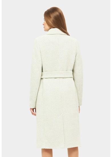 Пальто демисезонное зеленое DANNA 1171