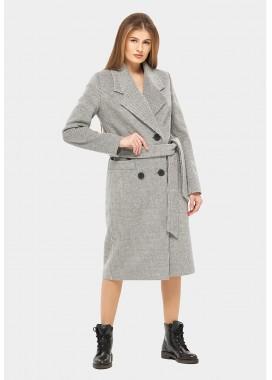 Пальто демисезонное серое DANNA 1175