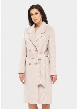 Пальто демисезонное сиреневое DANNA 1175