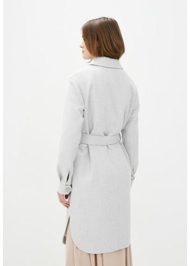Пальто демисезонное серое DANNA 1725
