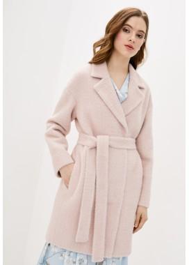 Пальто демисезонное розовое DANNA 1729